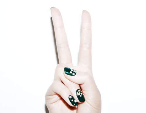 Images by Robin Black, Nails by @MPnails, model Soo Joo! via www.violetgrey.com