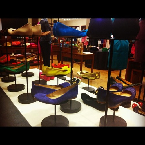 I love the new bags & shoes section of #JCrew (Taken with Instagram at J.Crew)