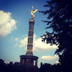 Victory Column. (Taken with Instagram at Siegessäule)