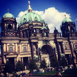 Berlin Cathedral. (Taken with Instagram at Berliner Dom)