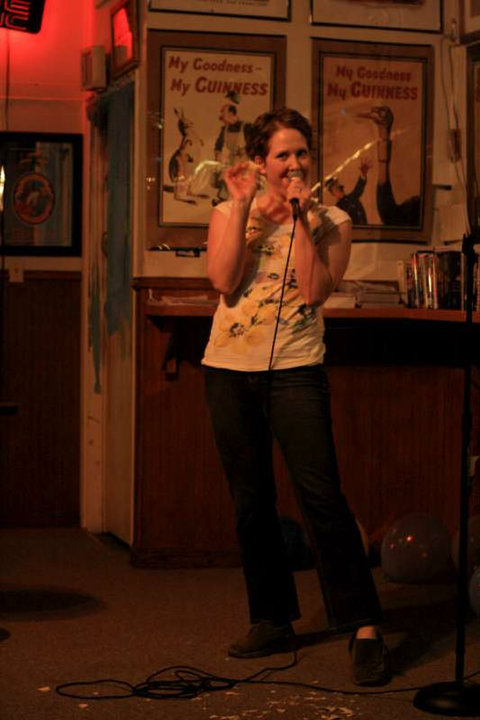 Heather Isaac Royce at McGrath's Pub by Larry Rivera