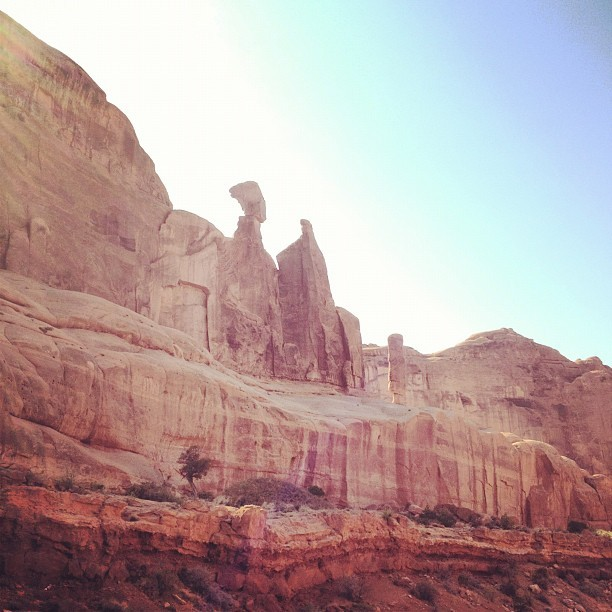 Arches National Park, Utah (Taken with Instagram)