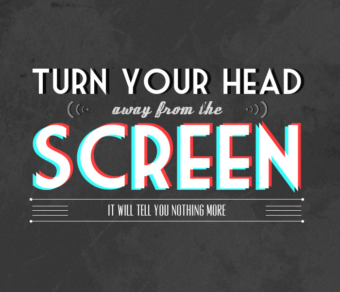 nevver:  Turn your head