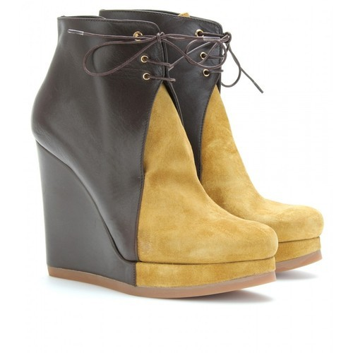 Jil Sander ankle booties   (see more leather wedge boots)