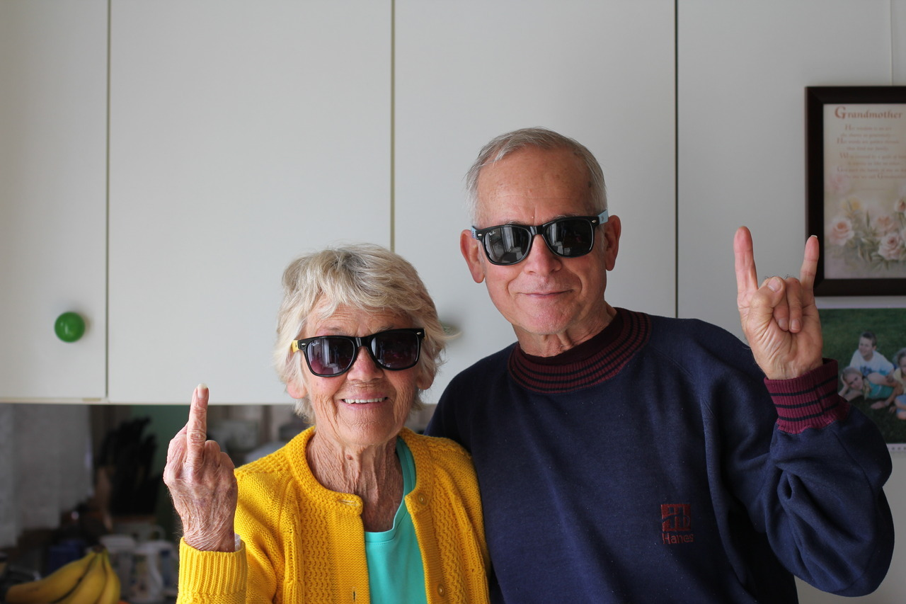 1ncredable:  z-oemarie:  i love old people.  I hope I'm a cool grandma like this