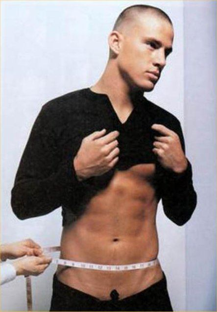 Channing Tatum   All I can say is God bless his momma!