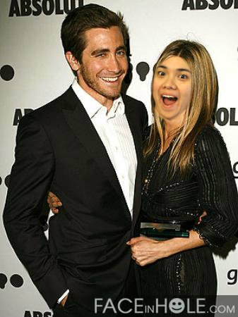 with Jake Gyllenhaal