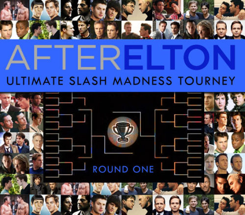 afterelton:  It's time! Voting for round one in our Ultimate Slash Madness Tournament is open. Voting on this round runs until Friday at midnight. Who will triumph, who will fall? Sterek? Harry/Draco? Damon/Alaric? Destiel? You decide! Vote now!