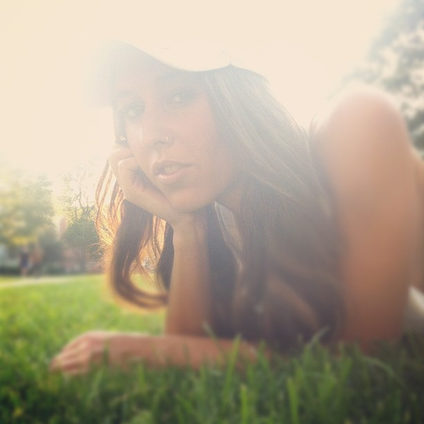 Ali. @highheeledbandit impromptu shoot. #iphone #beauty (Taken with Instagram)