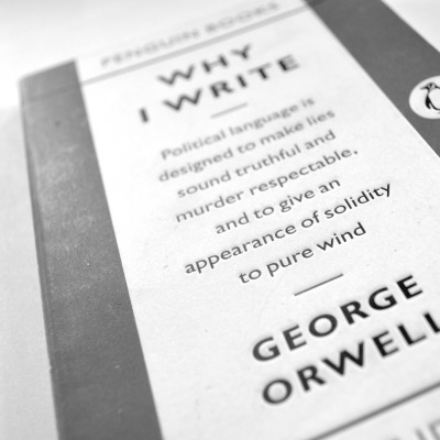 teachingliteracy:  Why I Write by George Orwell (by James A. Reeves)