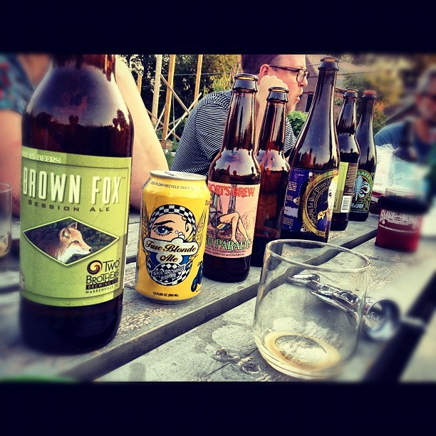 Cottage Home neighborhood beer tasting  (Taken with Instagram at Cottage Home Community Garden)