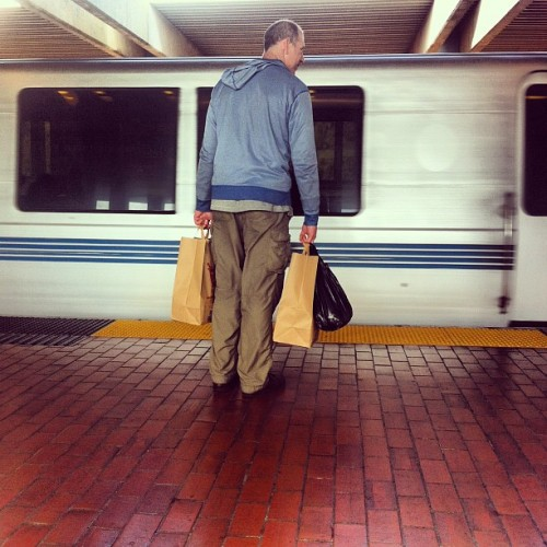 A nice fellow. #samaritan (Taken with Instagram at El Cerrito Plaza BART Station)