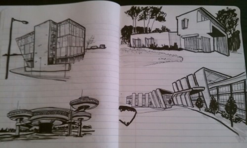 Sketching buildings