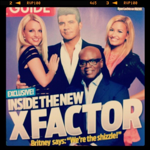 Finally found it! #britneyspears #demilovato #xfactorusa  (Taken with Instagram)