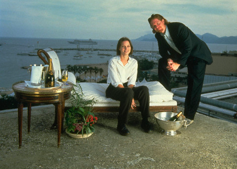 Eric Stoltz and Bridget Fonda had quite the set up in Cannes in 1993.