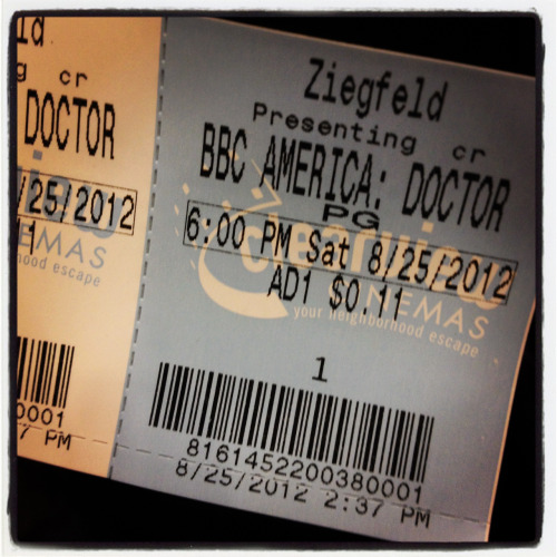 11 cents to see the Doctor :)