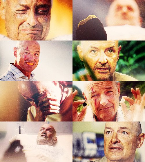 John Locke was my favorite character from the moment he smiled with that orange slice in his mouth in the pilot, all the way until the very last episode. He was an amazingly soulful character, in a way that I don't know that we'd seen before, or may ever see again.