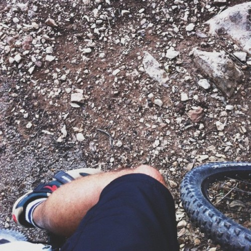 Map stop. #vscocam #atx #greenbelt #mountain #biking (Taken with Instagram)