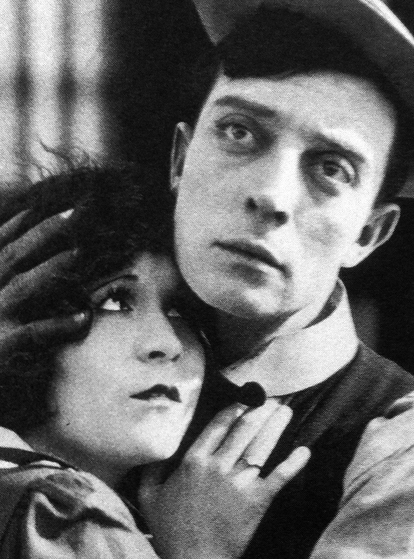 bustrkeatn:  Buster Keaton and Virginia Fox in Neighbors, 1920.