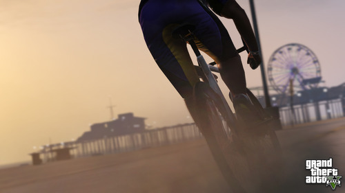 Compare the GTAV photo to the real Santa Monica.