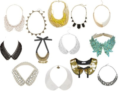 Fall Trend: Collars by threegirlsandamic featuring a collar necklace