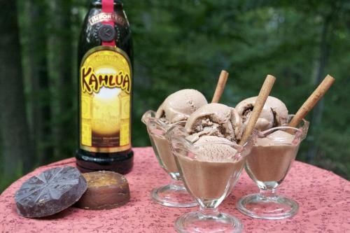 Mexican Chocolate Ice Cream Recipe: HERE!!!!