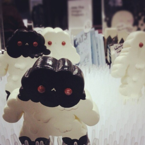 paddyleung:  Here is a sneak peek of Hyein Lee's table at Fan Expo : Boong displayed at #FanExpo! :D hand casted and hand painted with #DarkMatters 30 limited edition!!! Xoxo - @hyeinpain- #webstagram
