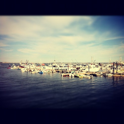 Boats in Provincetown (Taken with Instagram)