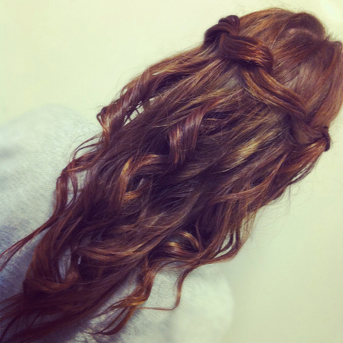 preanka:  i love this waterfall half do hair style <3 please join me here: http://www.facebook.com/pages/Preankas-Makeup/139234175684?ref=hl