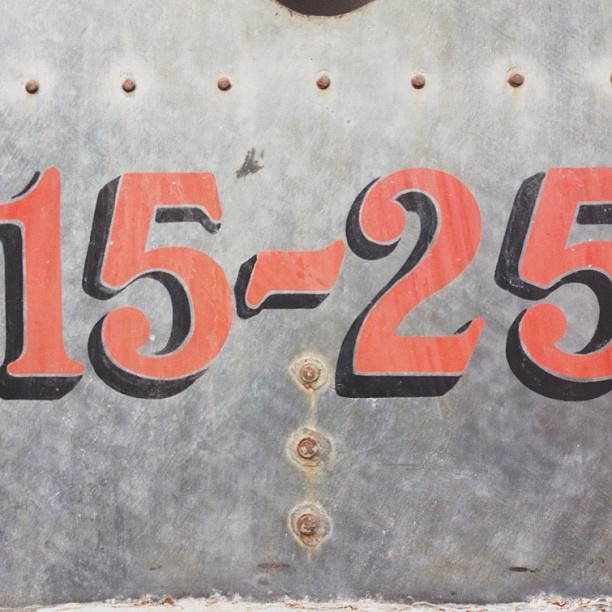 #vintage #design #type #tractor #signpainter #handdrawntype  (Taken with Instagram)