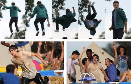 the boys on the set of LWWY!!