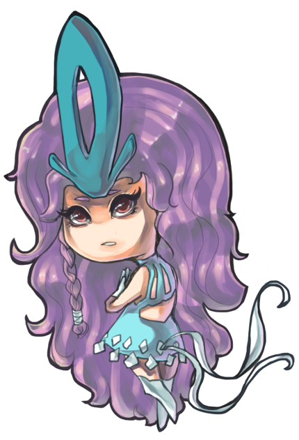 summer 2012 If Suicune were a human