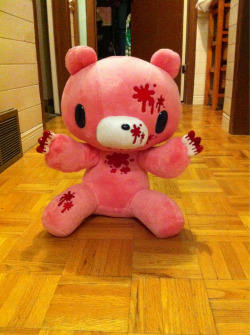 Gloomy bear plushie I bought today at Fan Expo!!