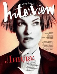 Linda Evangelista for Interview Russia - September 2012 (photo via visualoptimism.blogspot.com)