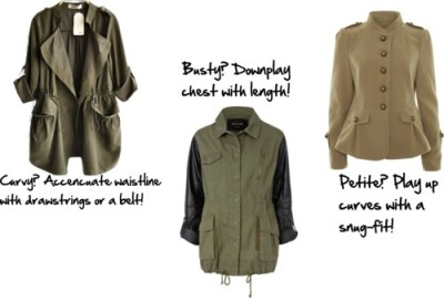 Fall Fashion Trend: Military Jacket by threegirlsandamic featuring a military jacketCoatsheinside.comA Wear military jacket$79 - awear.com