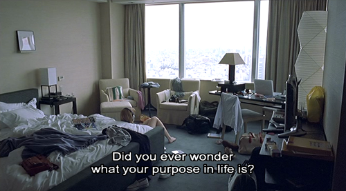 cinyma:  Lost in Translation, 2003. (Directed by Sofia Coppola)