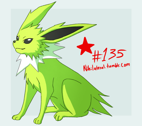 Shiny Jolteon, requested by Nirazilaa! Want to request a shiny Pokemon for me to draw? Just drop by my ask box. I do one, maybe two, a day. Next is shiny Gyarados.