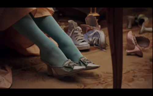 Chucks Spotted: Sophia Coppola's Marie Antionette