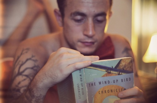 My naked reading day photo, reading my favorite book, and sorta my tumblr namesake.