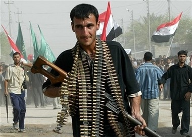 Upham? Is it just me or does this Iraqi with a PKM and loads of ammo belts look like Upham from Saving Private Ryan?  it actually does