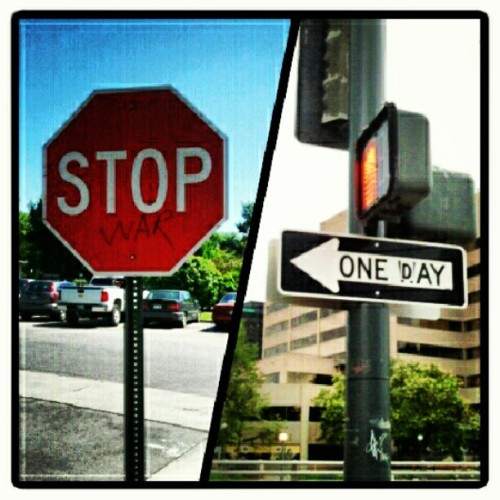Signs like these just make my day :') (Taken with Instagram)