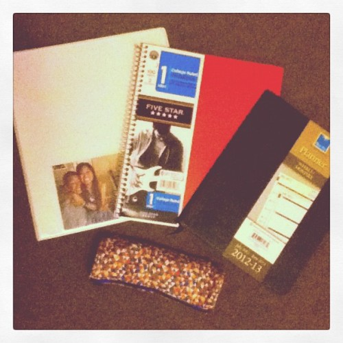Day 25 - School Supplies. #MyAugust (Taken with Instagram)
