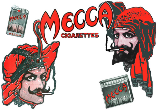 mecca cigarettes 1915 (by Captain Geoffrey Spaulding)