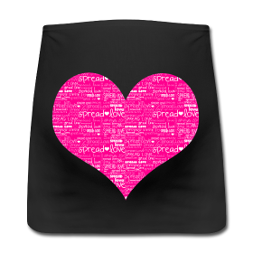 wiseshots:  wiseshots:  I designed a spread love belly band for MiaSwiers any anybody who is having a baby and wants to spread love :)  Also a huge congrats to the glitzer IGLHRC ANON!!! this one if for you as well!