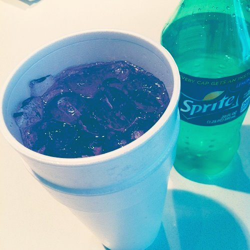 dropdeadpothead:  Me and my lean(':  Leanin