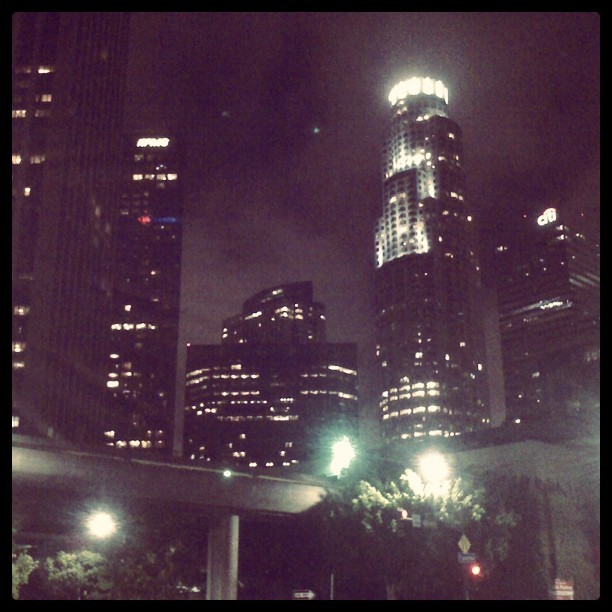 At #night #dtla #instagood  (Taken with Instagram)