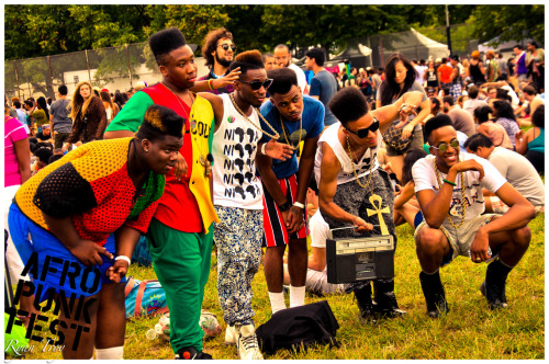 ryantroy:  Tribe NYC at Afro Punk Fest 2012