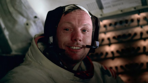 Image: Neil Armstrong is photographed inside the Eagle just minutes after becoming the first person to walk on the Moon. Everyone who has ever lived has seen the moon, and he was the first man to touch it. It's a sad day today. Rest easy, Commander.