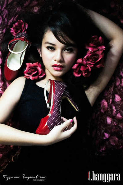 """POLKA PASSION""  Shoes by » T.Hanggara « Photographer » Tysna Saputra 