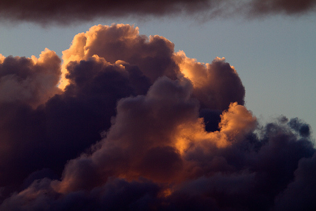 clouds up close by sosidesc on Flickr.